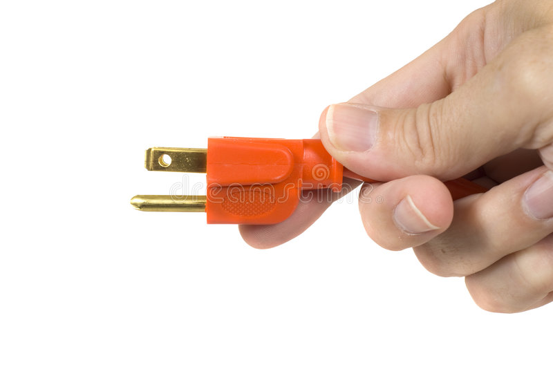 Plugged In royalty free stock photography