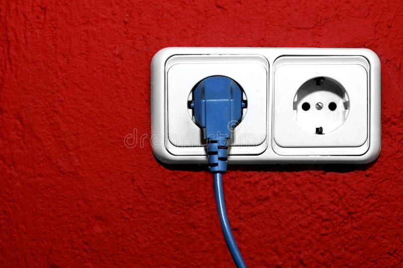 Download Plugging stock photo. Image of connected, electricity - 14852998