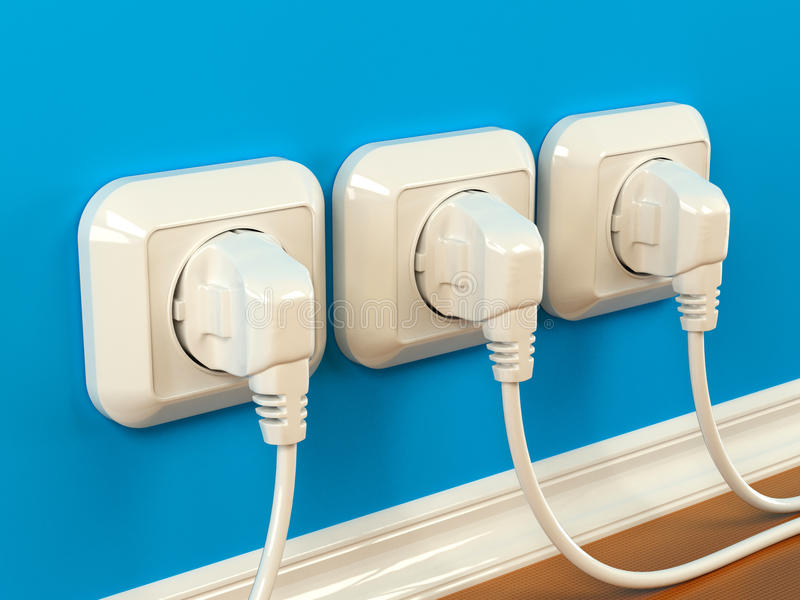 Download Plugs And Sockets Stock Image - Image: 15276441