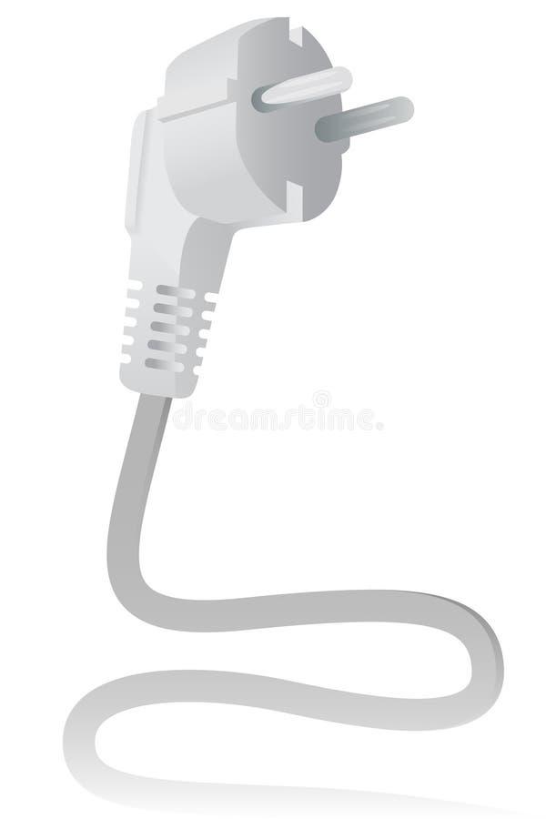 Plugue elétrico ilustração stock