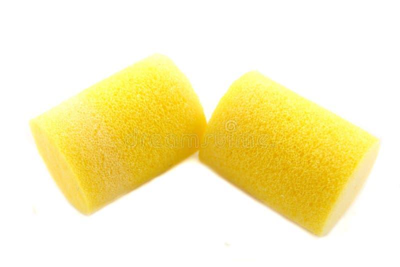 Plugues de orelha foto de stock