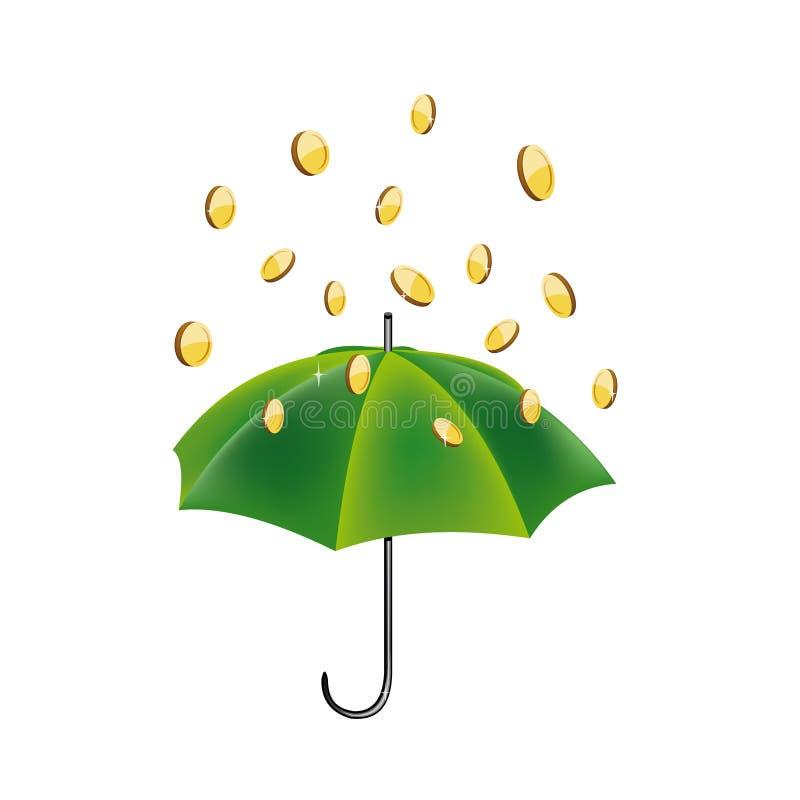 pluie d'argent photo libre de droits