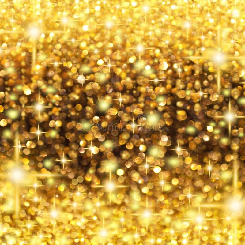 Pluie de Noël de lumières photo libre de droits