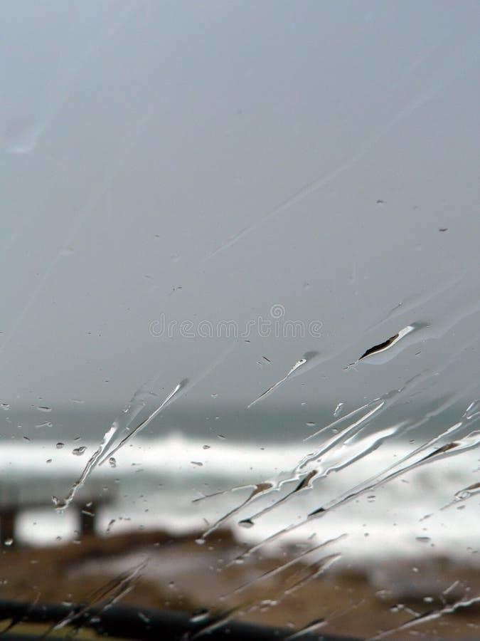 Pluie de pare-brise photos libres de droits