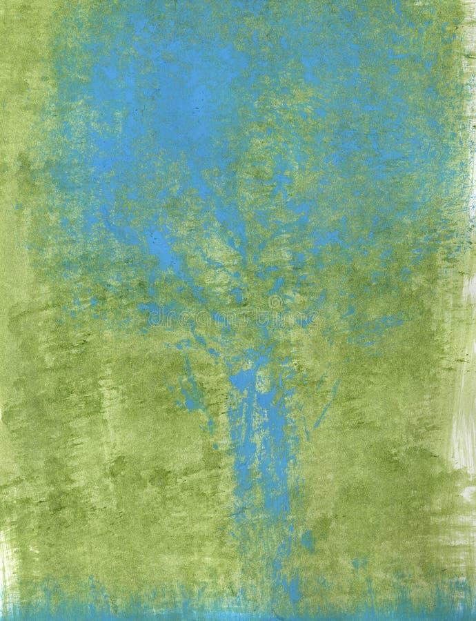Pluie de source abstraite illustration de vecteur