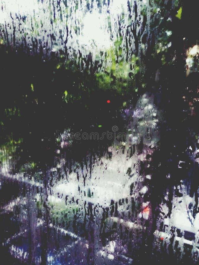 Pluie foncée photos stock