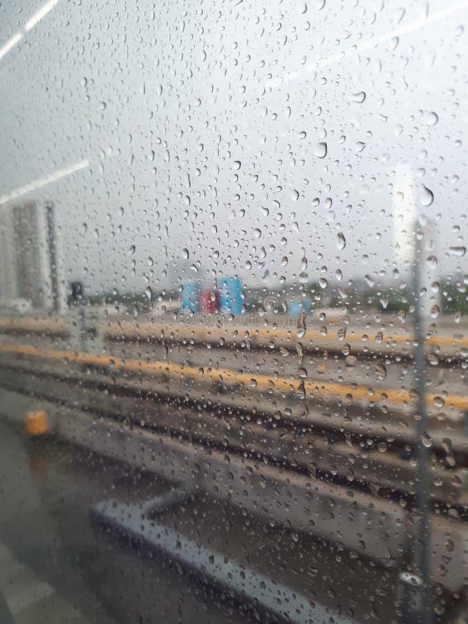 pluies photographie stock