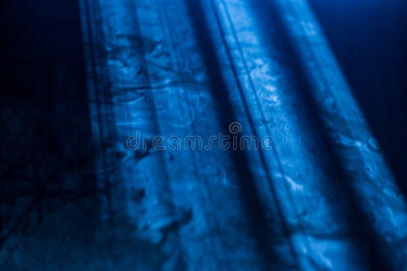 Pluizige Rookwolken van Rook en Mist royalty-vrije stock fotografie