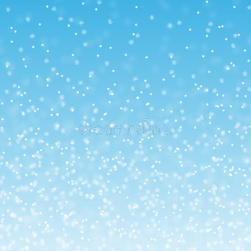 Pluizige sneeuw royalty-vrije stock afbeelding
