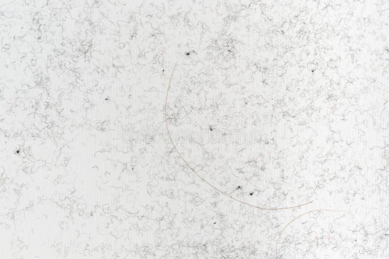 Pluksel en haar op kleefstof royalty-vrije stock afbeeldingen