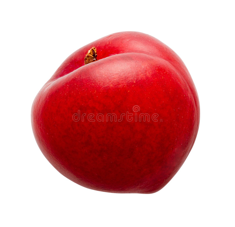 Plum. Isolated on a white background. Isolation is on a transparent layer in the PNG format stock photos