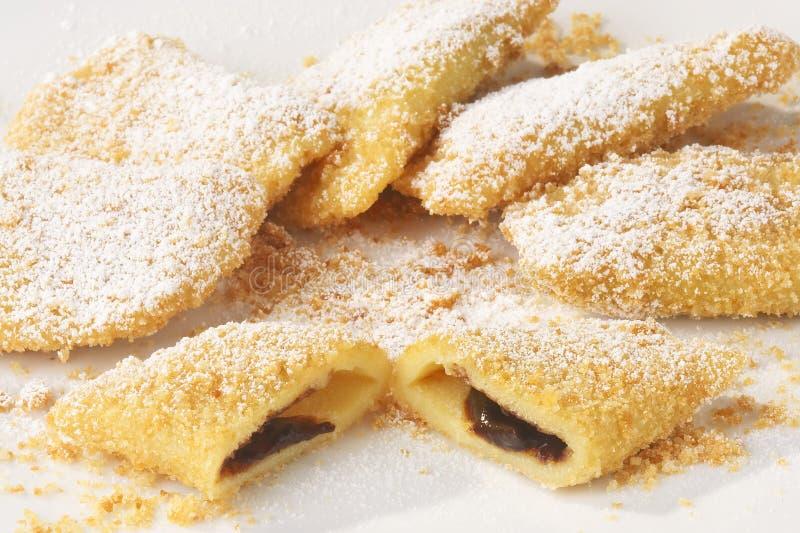 Plum dessert - Zwetschkentasche royalty free stock image