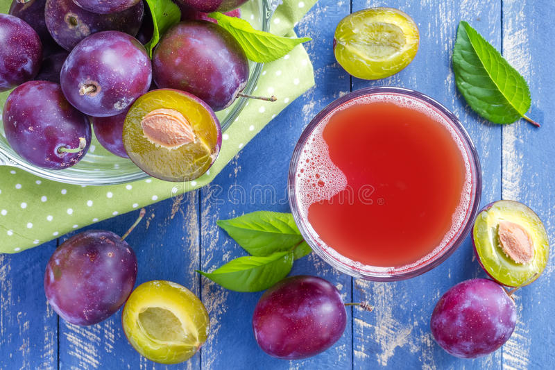Plum Juice imagens de stock