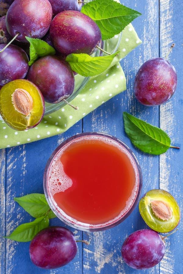 Plum Juice imagens de stock royalty free