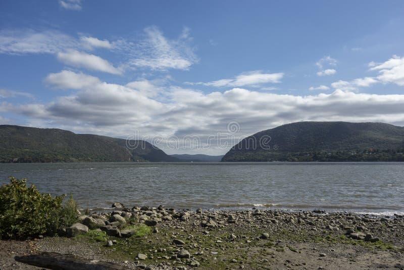 Plum Point auf dem Hudson lizenzfreie stockbilder