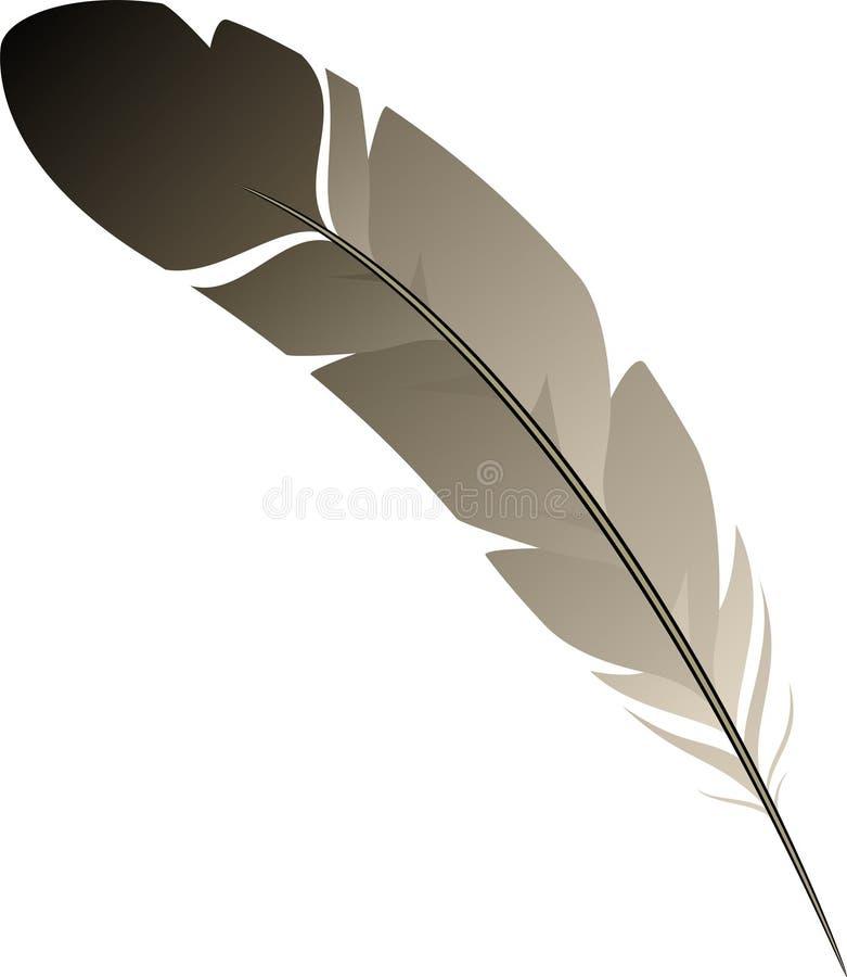 Pluma ilustración del vector