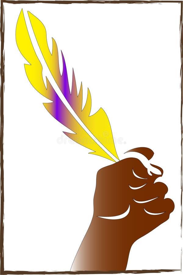 Pluma libre illustration