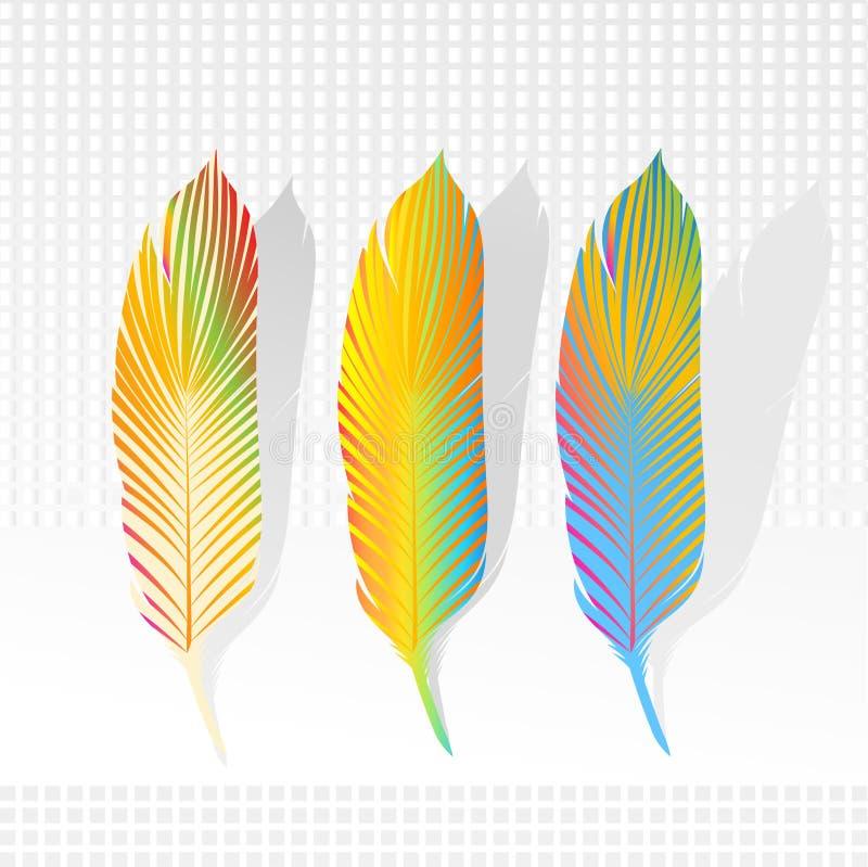 Pluma de la pluma stock de ilustración
