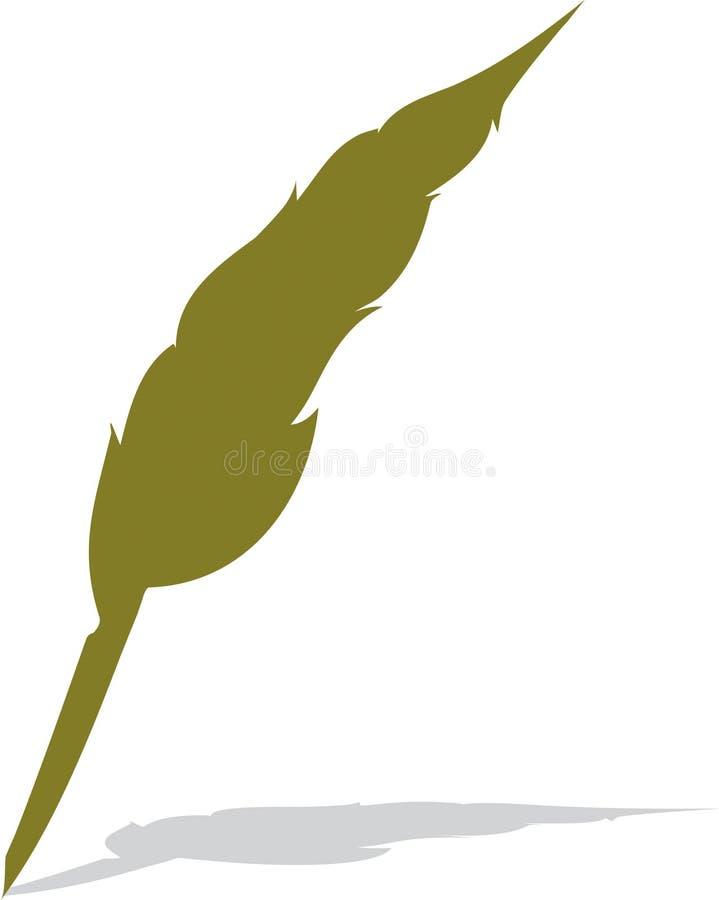 Pluma de pluma imagen de archivo