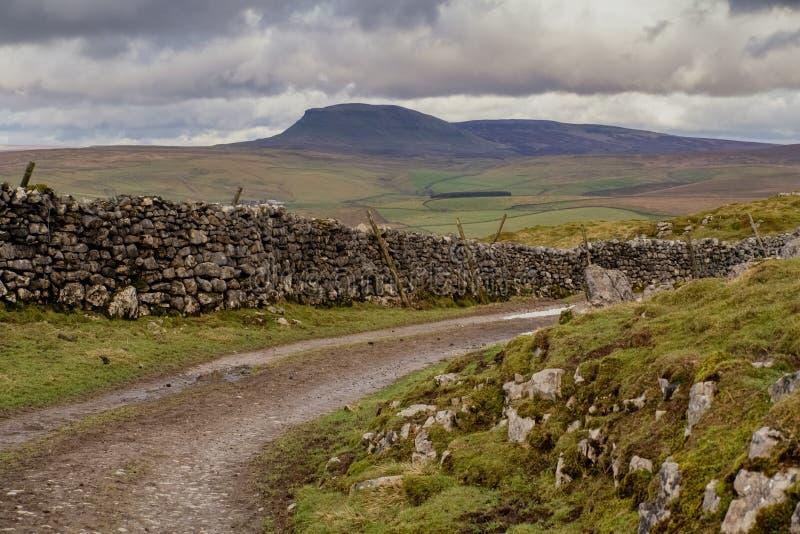 Pluma-Y-Gante en los valles de Yorkshire imágenes de archivo libres de regalías