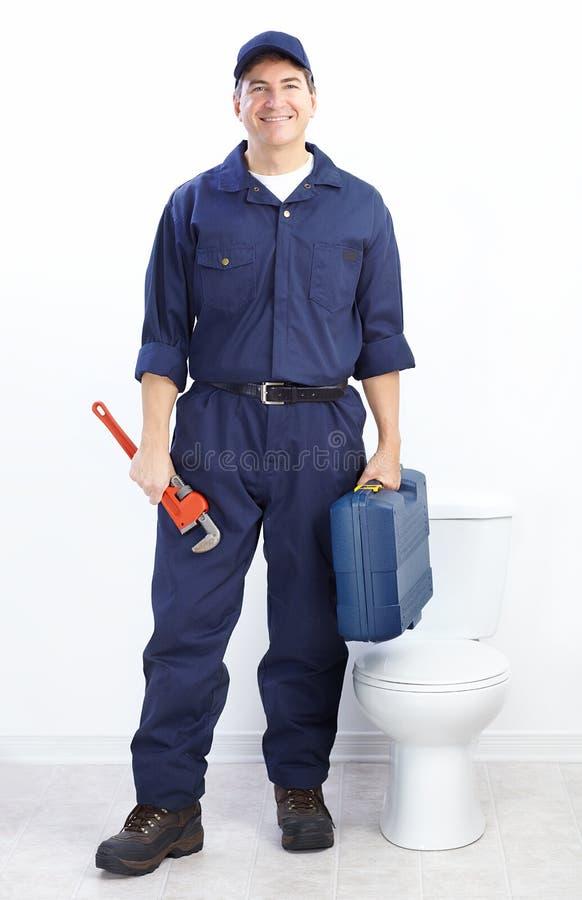 Plumber stock image