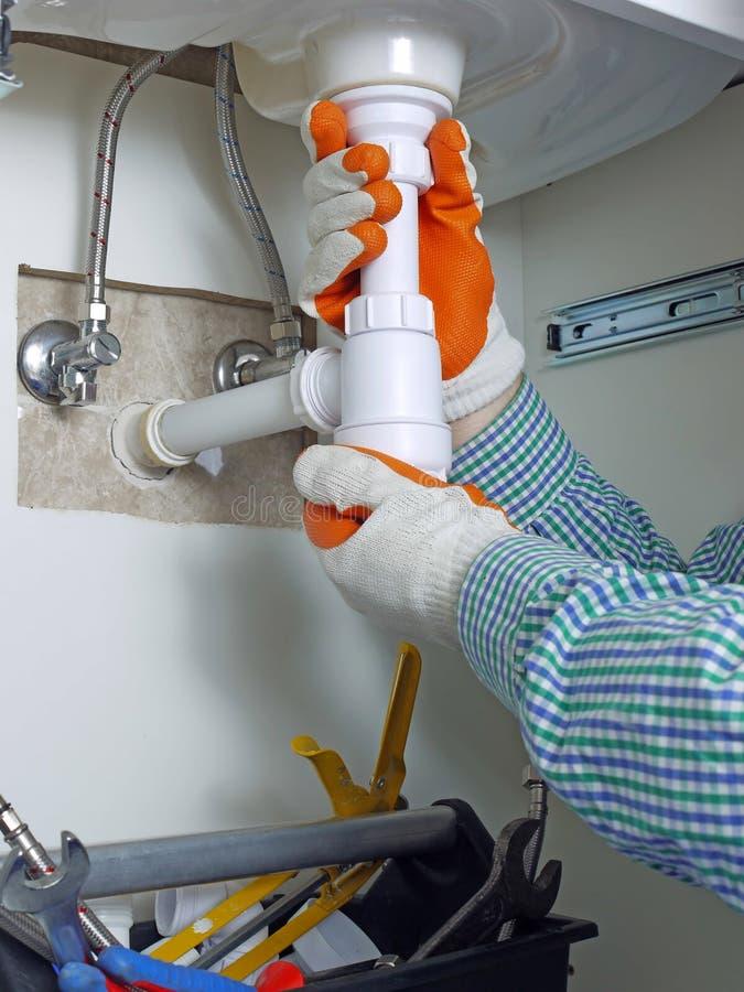 Download Plumber stock image. Image of industrial, assembling - 23378477