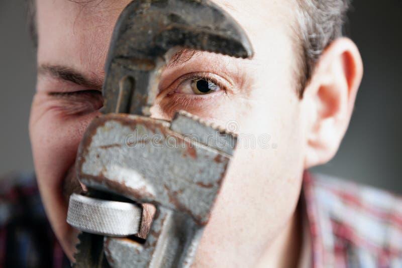 Download Plumber stock photo. Image of worker, measuring, improvement - 31056160