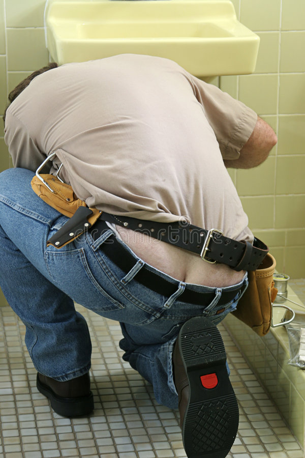 Free Plumber Crack Royalty Free Stock Images - 142669