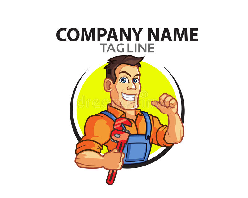 Plumber Logo vector illustration