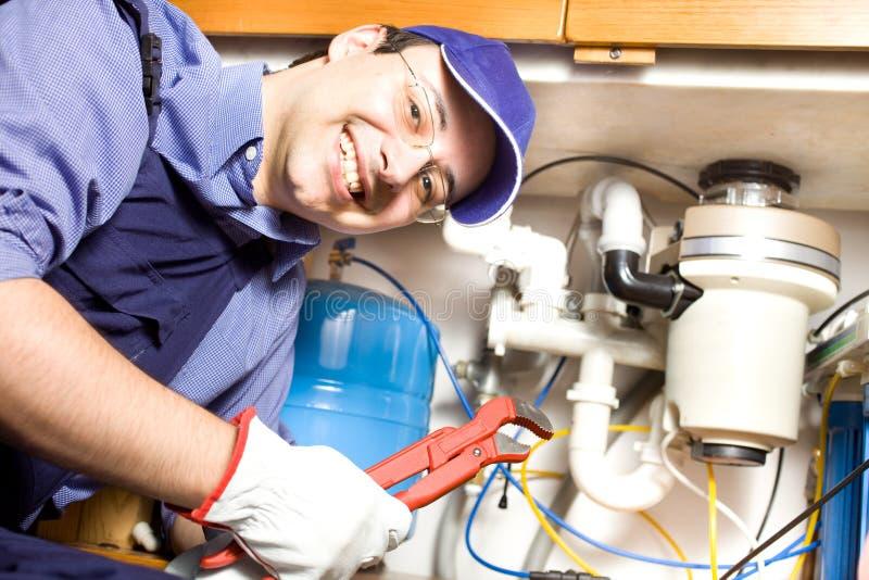 Download Plumber At Work Royalty Free Stock Images - Image: 26611709