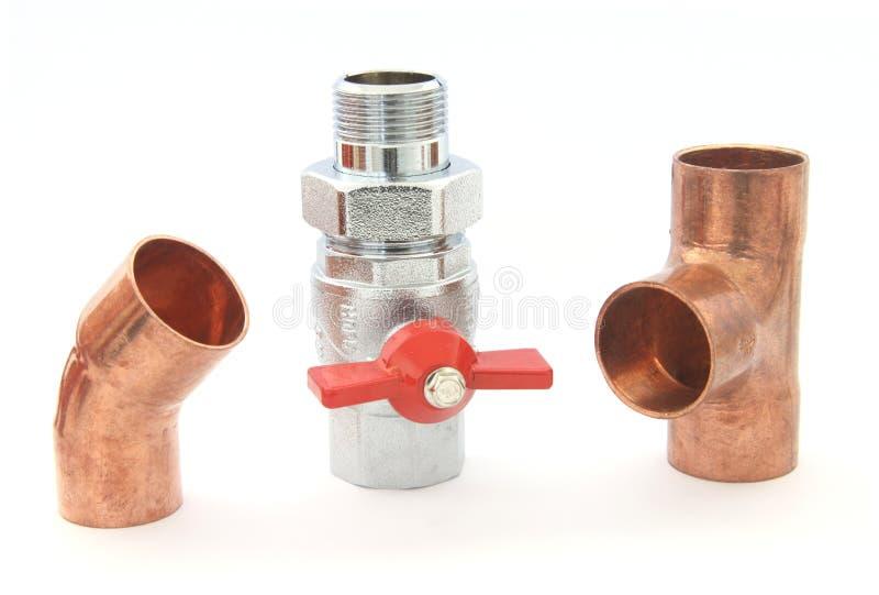 Download Plumbing Fittings Stock Photo - Image: 13058380