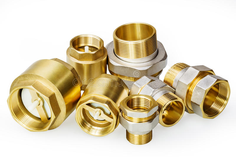 Download Plumbing Fixtures And Piping Parts Stock Photo - Image: 37687558
