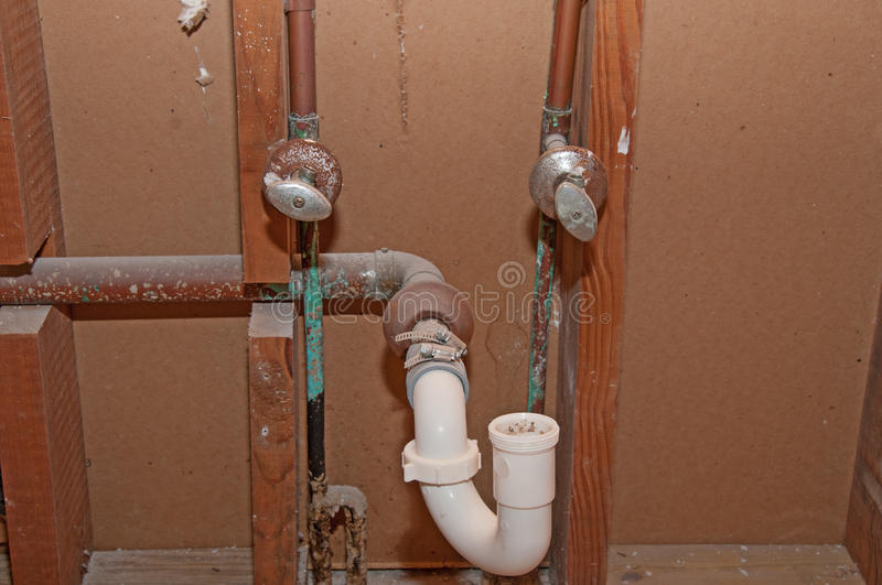 plumbing a bathroom sink plumbing bathroom pipes stock photo image of 20007