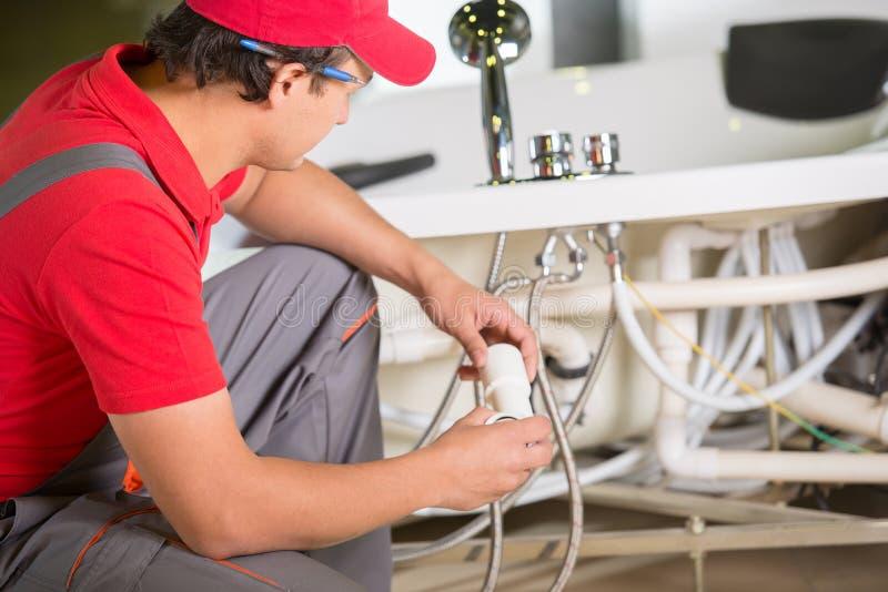 Plumbing. Professional plumber. Plumbing repair service stock images