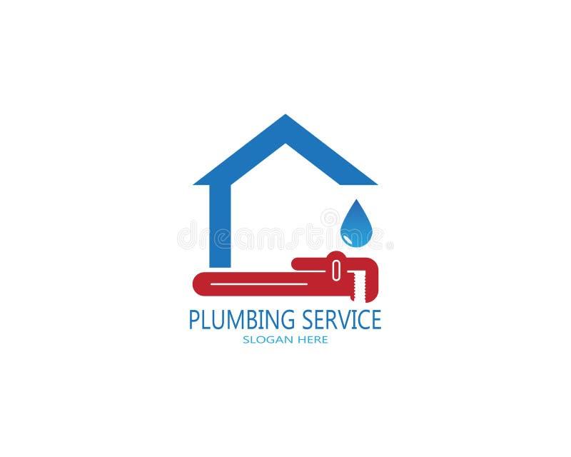 Plumbing service logo vector.  stock illustration