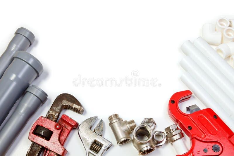 Plumbing supplies royalty free stock photography