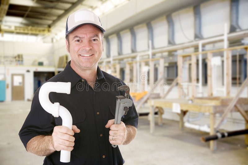 Plumbing Trade School royalty free stock photography
