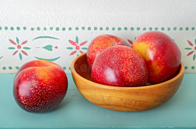 Download Plums in Bowl stock image. Image of fruit, healthy, food - 22278635