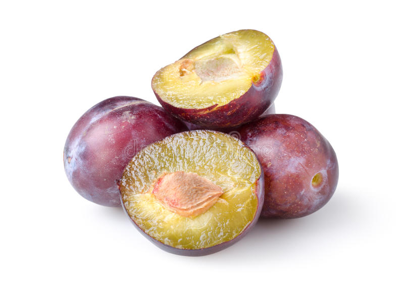 Download Plums isolated stock image. Image of isolated, section - 20993555