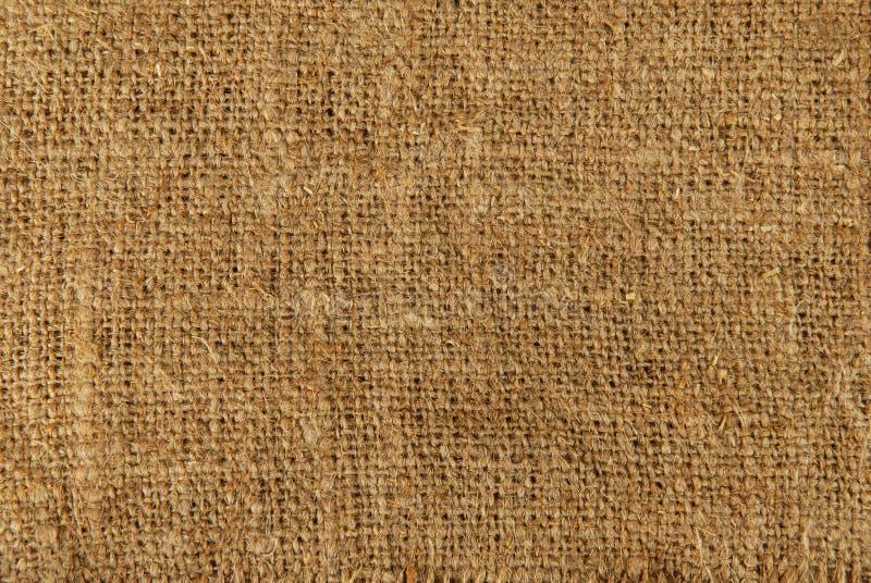 plundra textur för säck royaltyfria foton