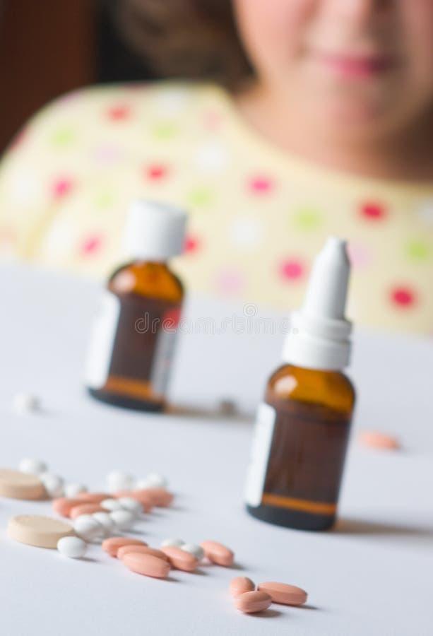 Plus De Médecines Image stock