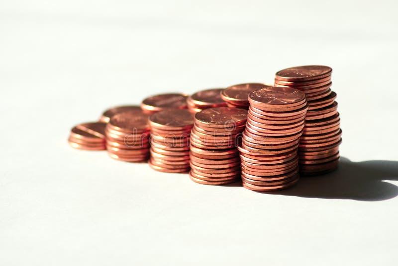 Plus de penny image libre de droits