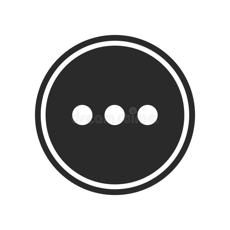 Plus de signe et de symbole de vecteur d'icône d'isolement sur le fond blanc, plus de concept de logo illustration de vecteur