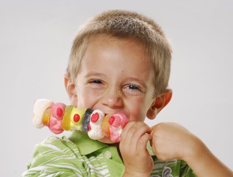 Plus de sucreries. images stock