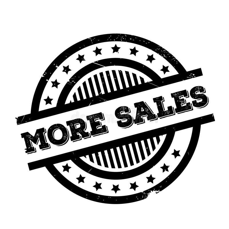Plus de tampon en caoutchouc de ventes illustration libre de droits