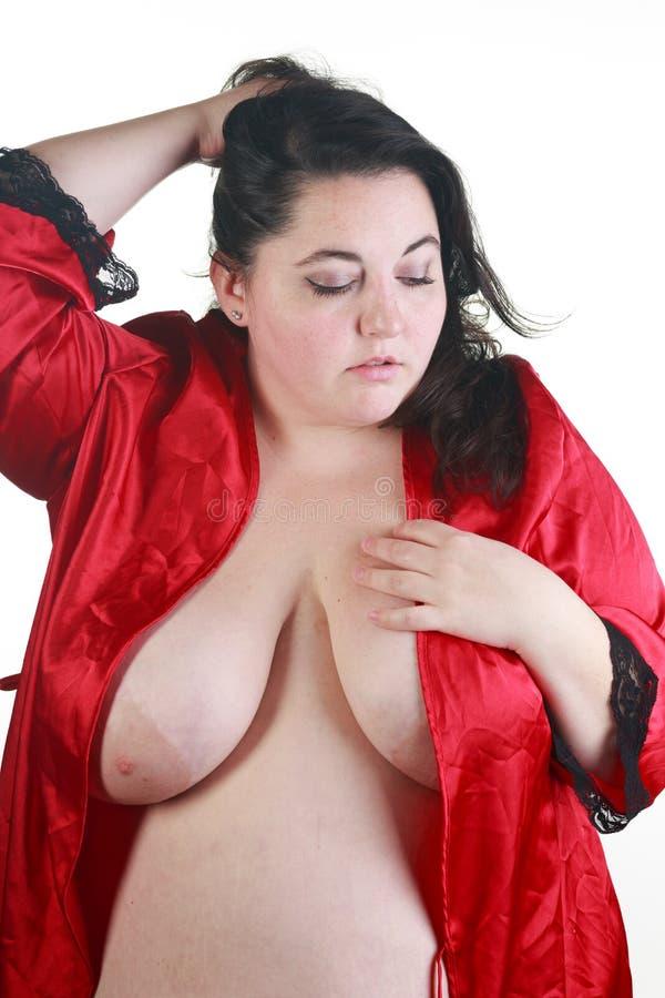 Bbw in lingerie nude