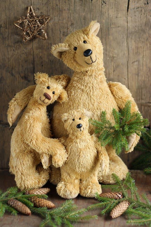Download Plush bears stock photo. Image of lovely, cardboard, nobody - 77918370
