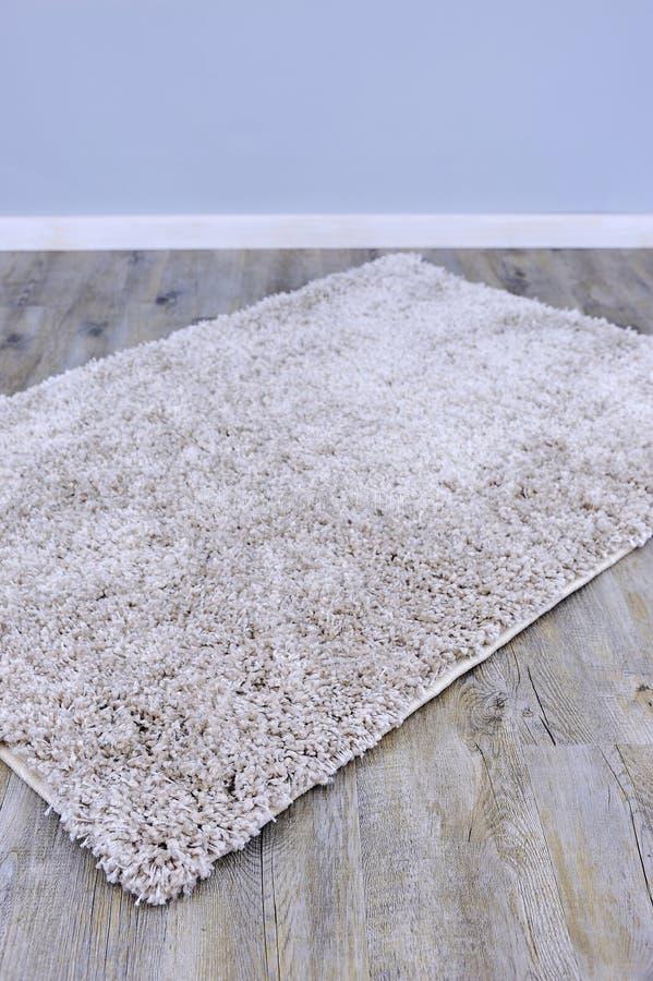 Plush Floor Rug. A close up photo of a plush floor rug royalty free illustration