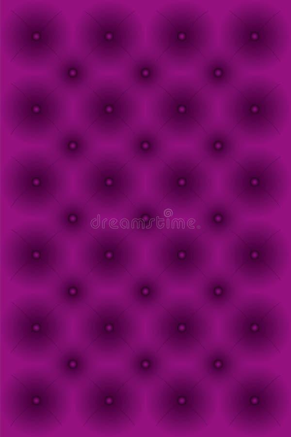 Plush Padded Cushion Vector Illustration Stock Photo