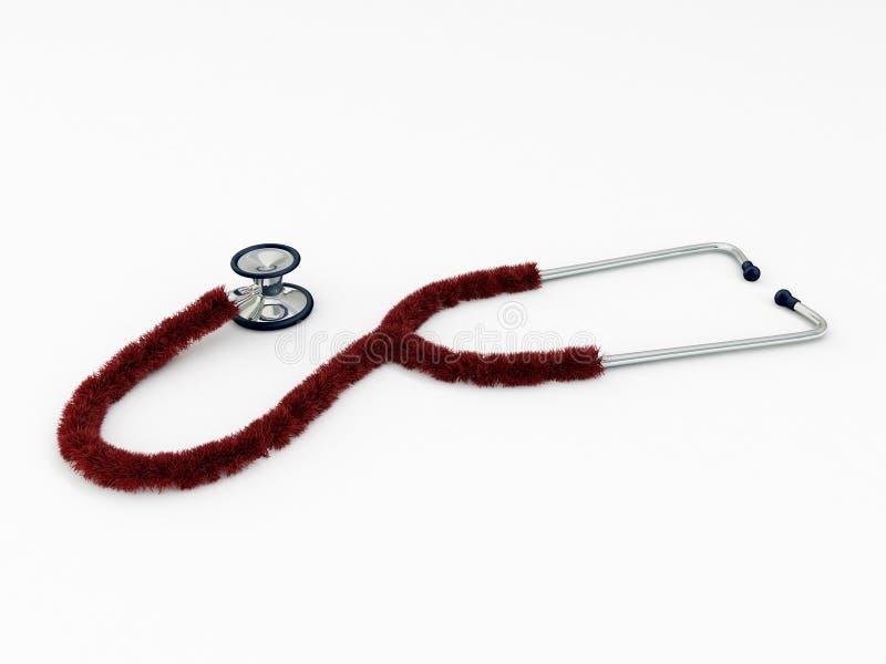 Plush Stethoscope Stock Image